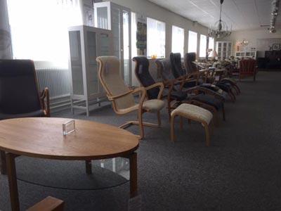 stolar i varuhuset