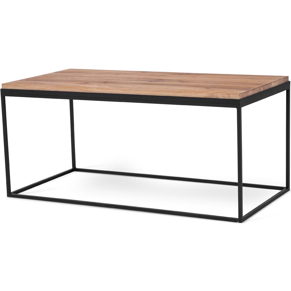 soffbord svart ek