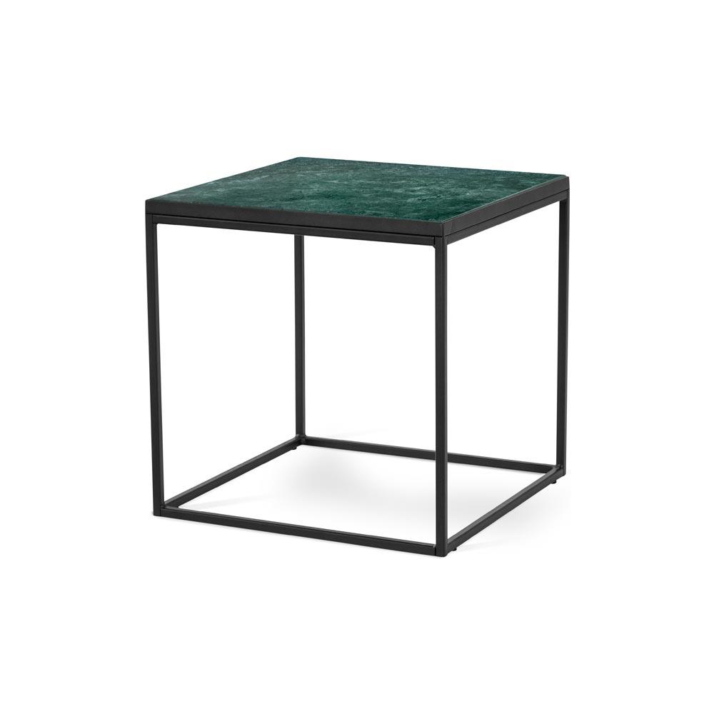 Bergen soffbord 50 marmor svart metall klar Nilssons Möbler i Lammhult AB