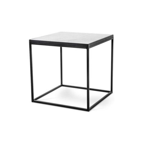 Soffbord 100 x 60 svartvitt Bergen