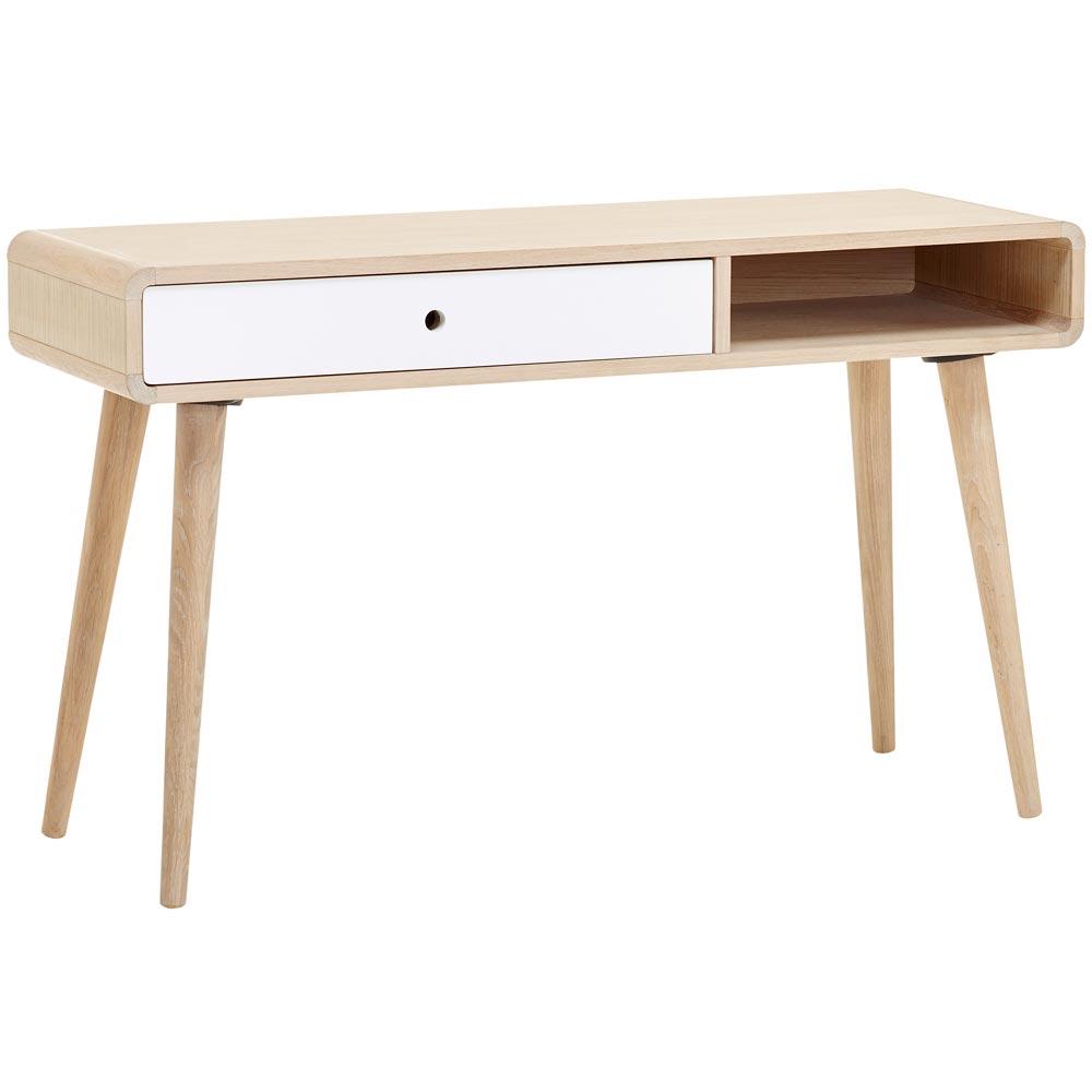 mio skrivbord ek ~ casö 500 skrivbord vitoljad ek vitlack  nilssons möbler