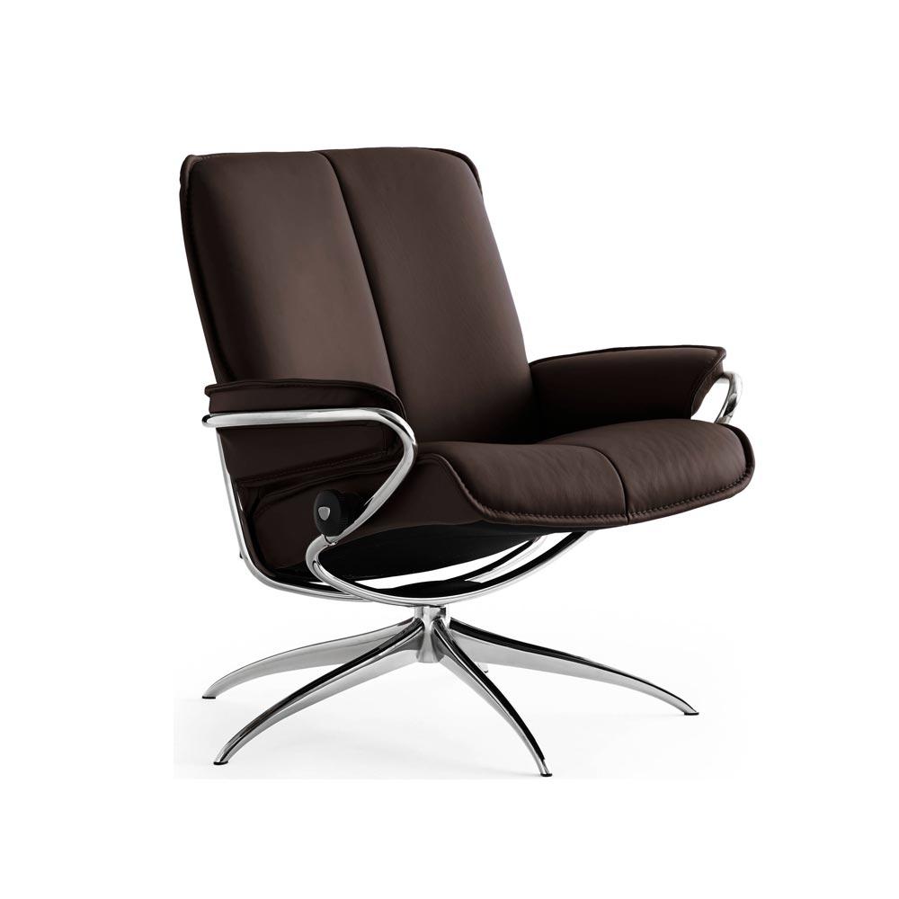 stressless city f t lj l g l der paloma chocolate nilssons m bler i lammhult ab. Black Bedroom Furniture Sets. Home Design Ideas