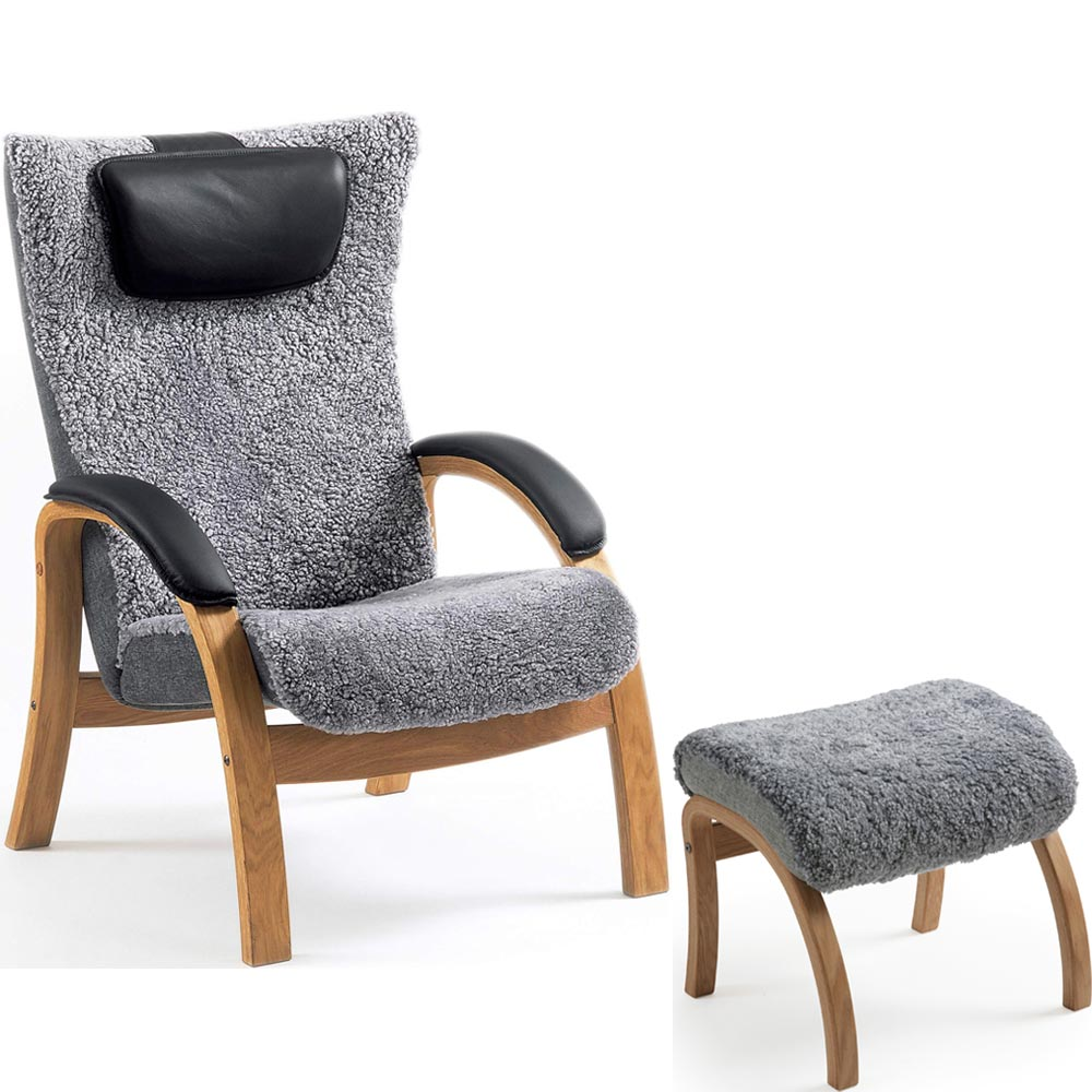 Ställbar fåtölj Easy Nilssons möbler i Lammhult AB