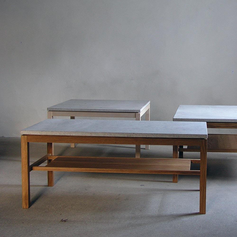 Hejnum soffbord ek kalksten 120 60cm Nilssons Möbler i Lammhult AB