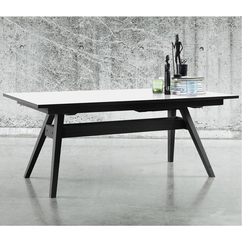 Belysning Koksbord : Hem  Matrum  Matbord & Koksbord  SM11 matbord svartvitt