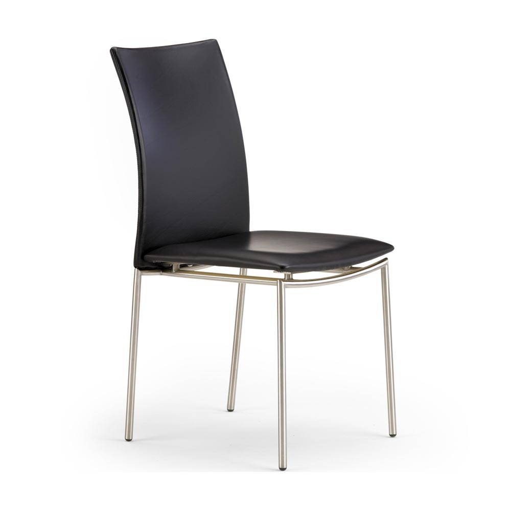 stol i läder