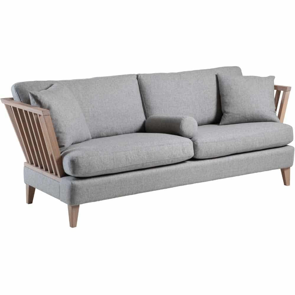 Helt nya Särö soffa - tyg fårö 14 ljusgrå - Nilssons Möbler i Lammhult AB EZ-02