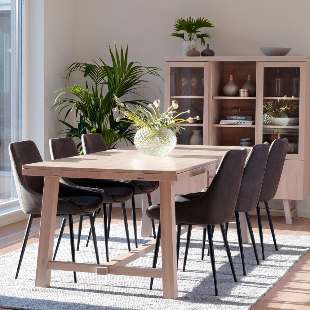 Brooklyn matbord Ek 108534 | Möbler från Rowico