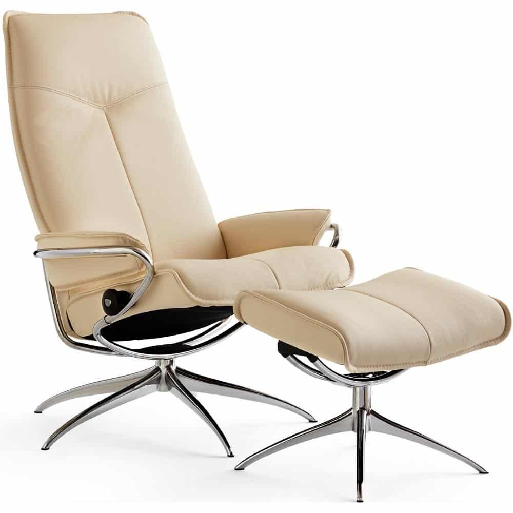 stressless city f t lj pall l der paloma vanilla nilssons m bler i lammhult ab. Black Bedroom Furniture Sets. Home Design Ideas