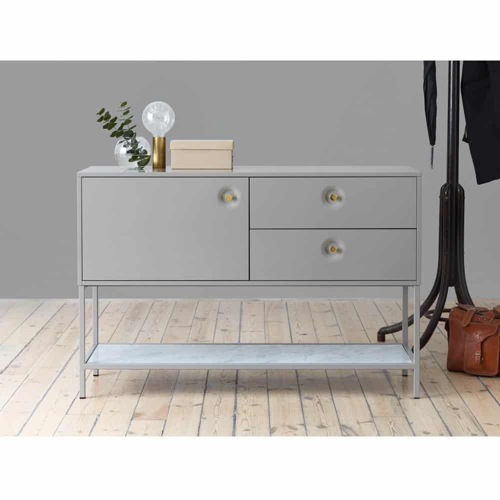 Viti sideboard 120cm khaki marmor m ssing nilssons for Sideboard 120