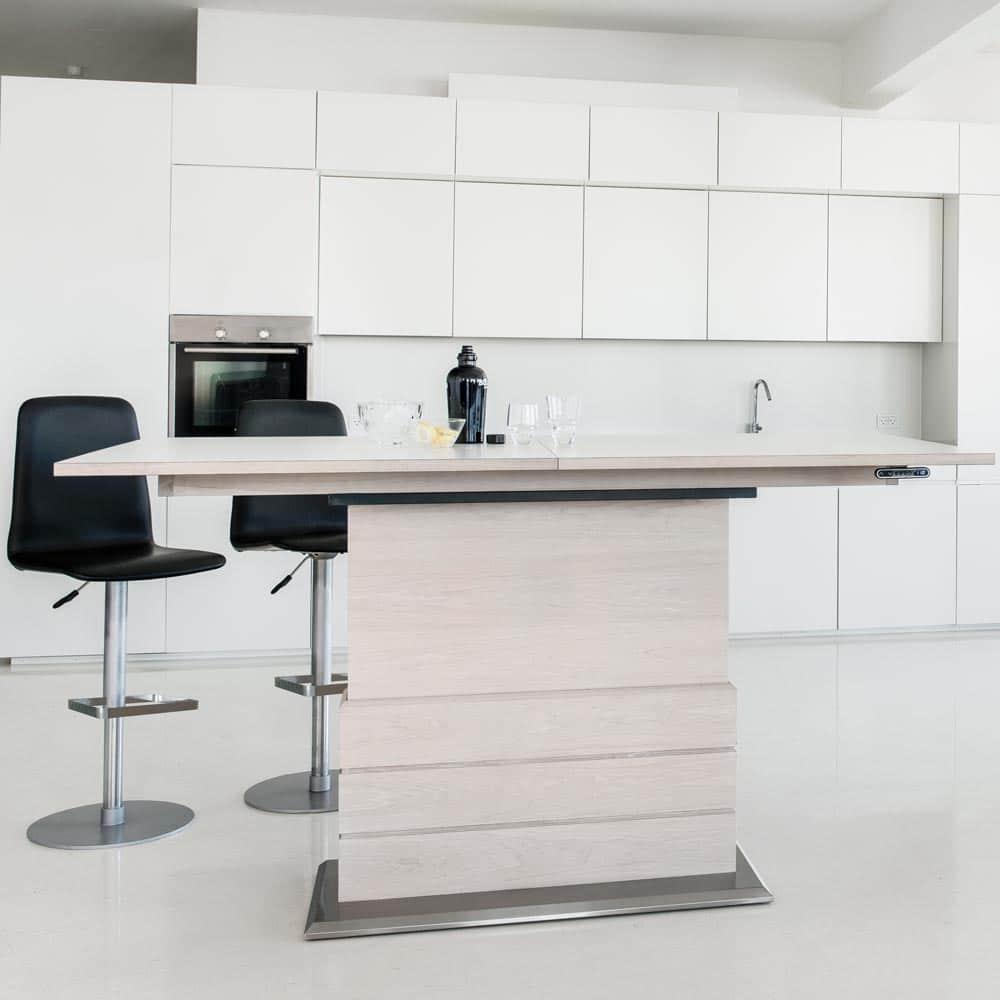 SM30 höj& sänkbart matbord vitt Nilssons Möbler i Lammhult AB