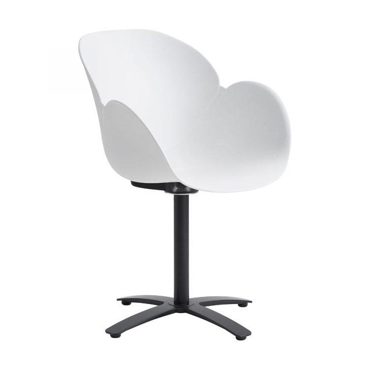 Caso-Deluxe-stol-vit-svart