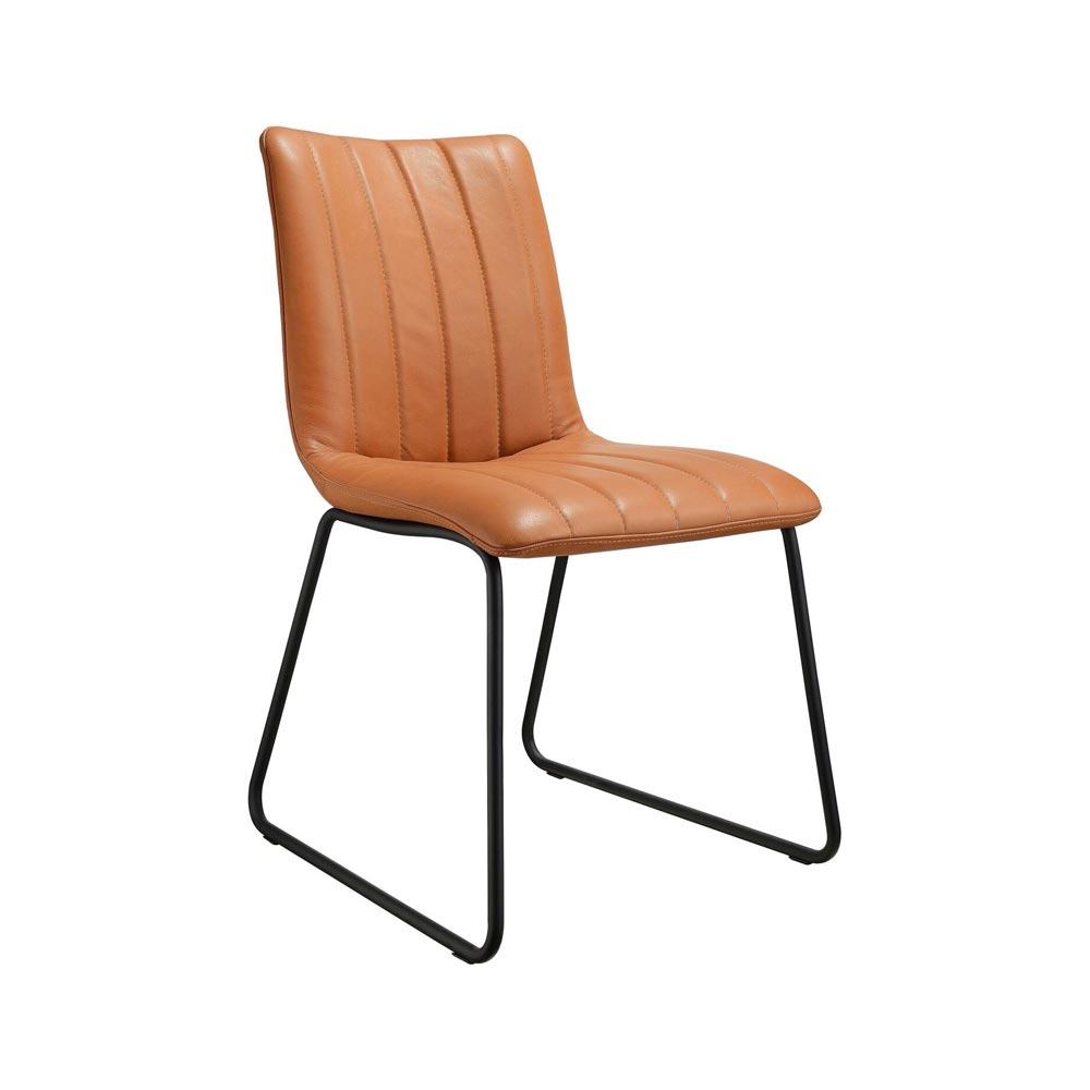 Lux stol svart borstat stål Nilssons Möbler i Lammhult AB