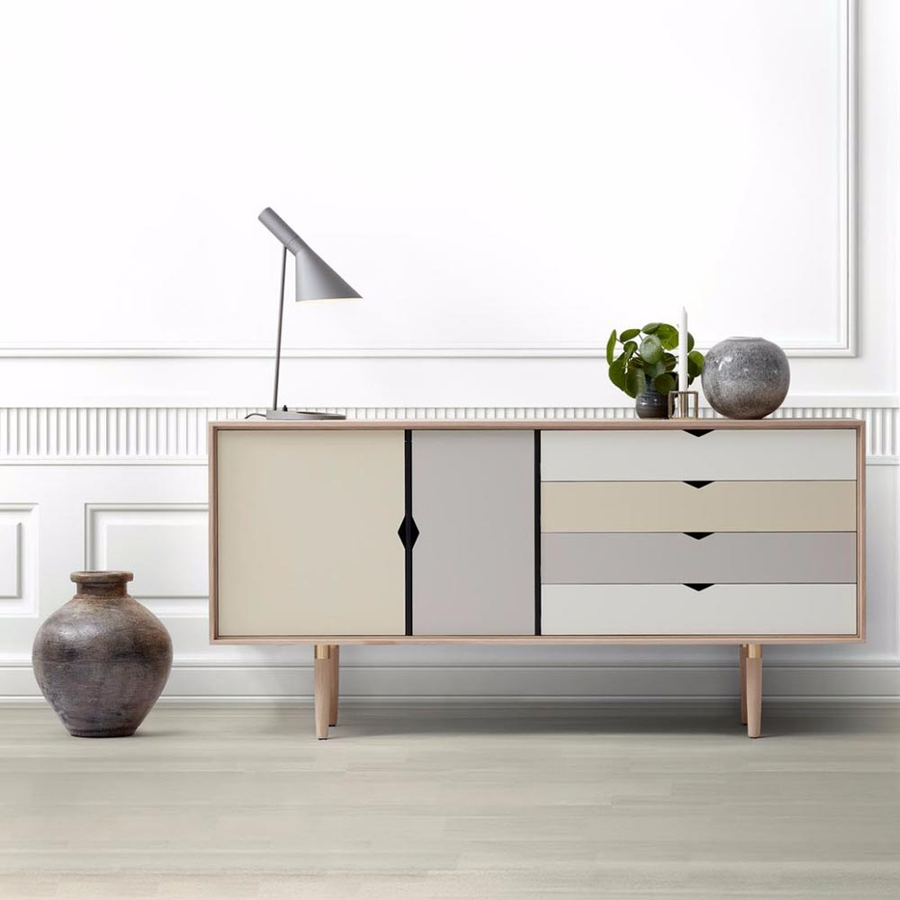 s6 sideboard ek gr beige nilssons m bler i lammhult ab. Black Bedroom Furniture Sets. Home Design Ideas